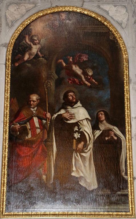 st angelus and carmelites Cesare_gennari,_santi_carmelitani,_xvii_sec