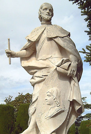 st Ferdinand-III-sculpture-Madrid-Sabatini-Gardens