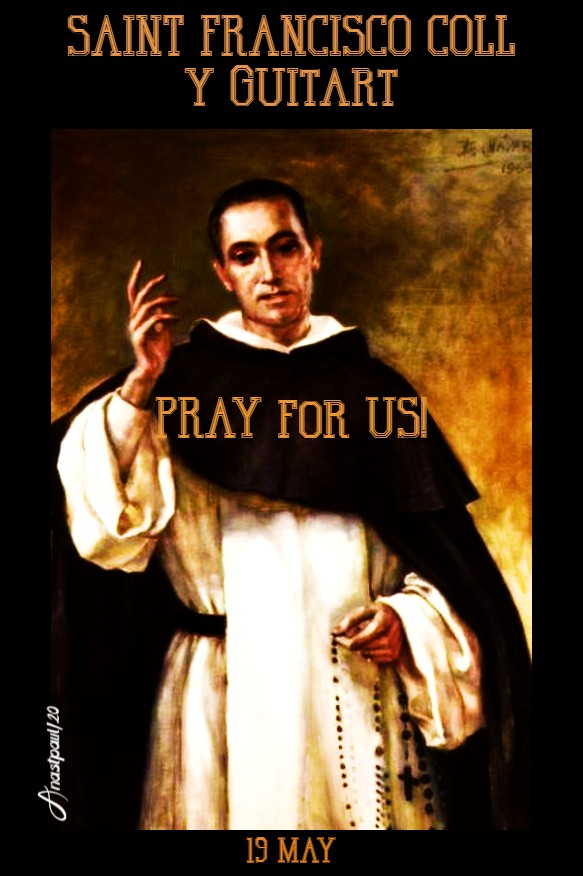 st francisco coll y guitart pray for us 19 may 2020