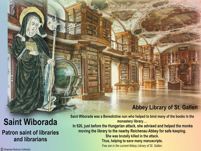 st wilborada abbey library of st gallen