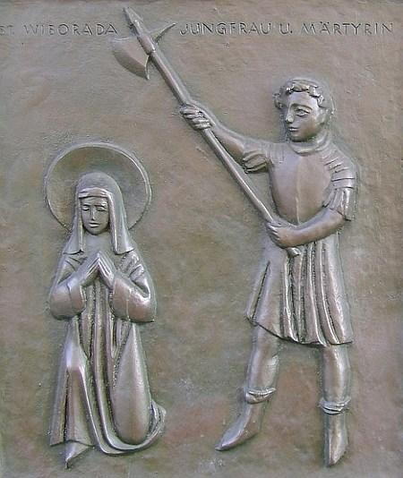 St. Wiborada of St. Gall