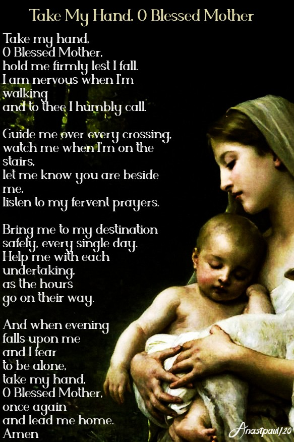 take my hand o blessed mother 5 may 2020