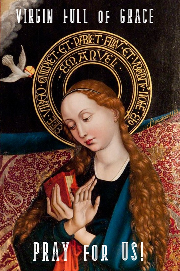 virgin full of grace pray for us 20 may 2020