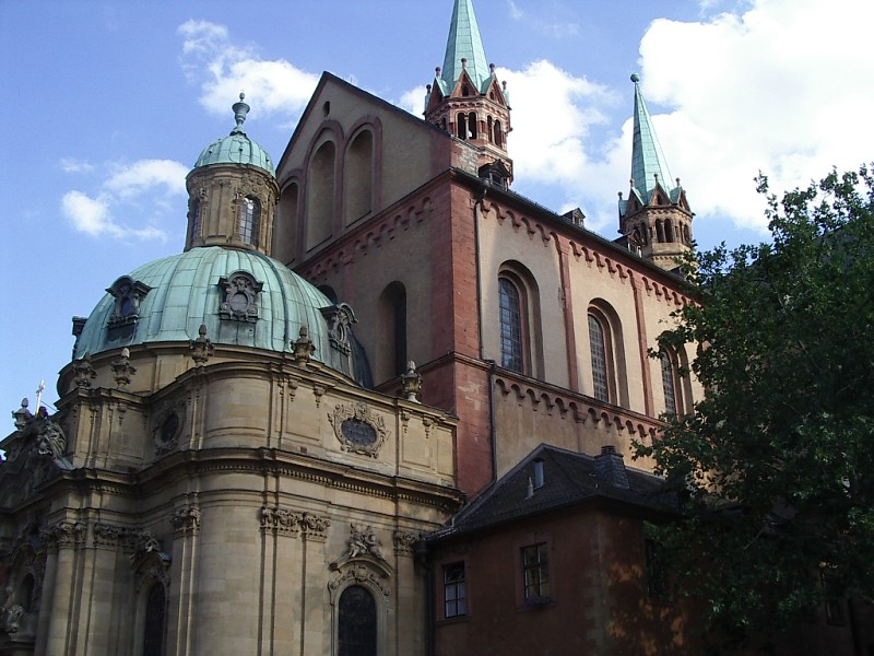 wurzburg cathedral exterior