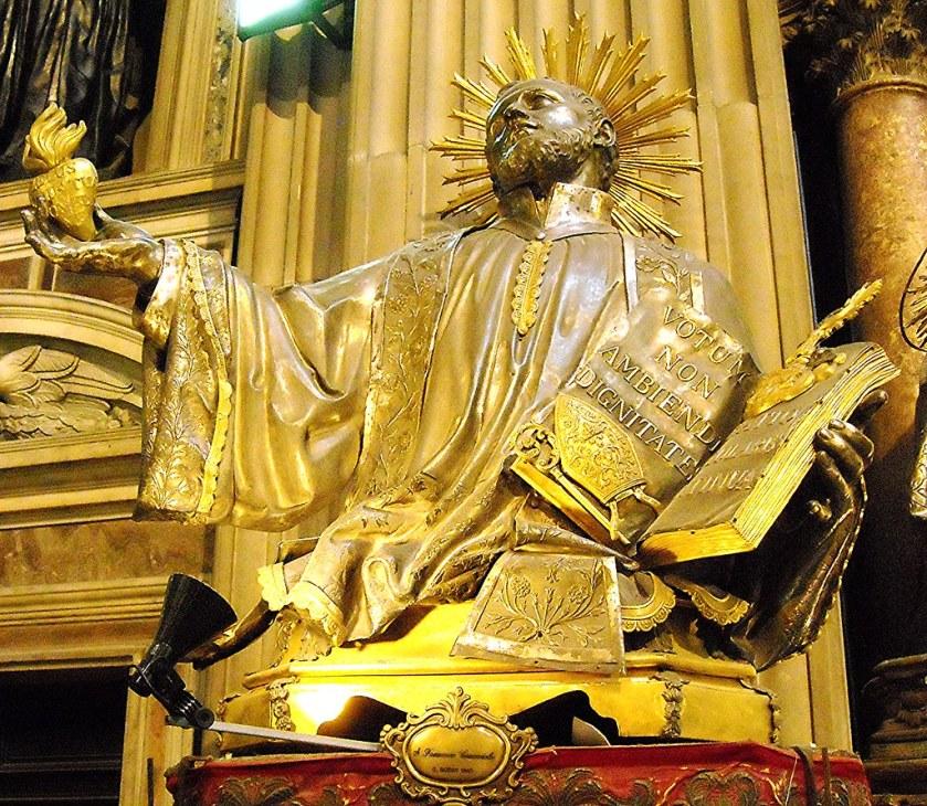 amazing statue st francis caracciolo