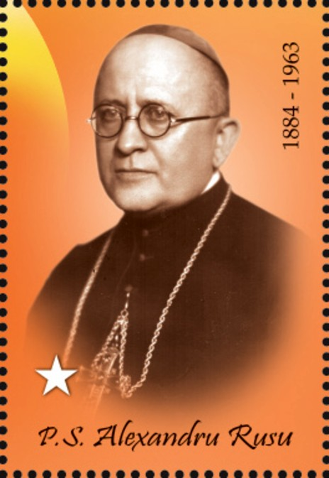 BL Alexandru_Rusu_2019_stamp_of_Romania