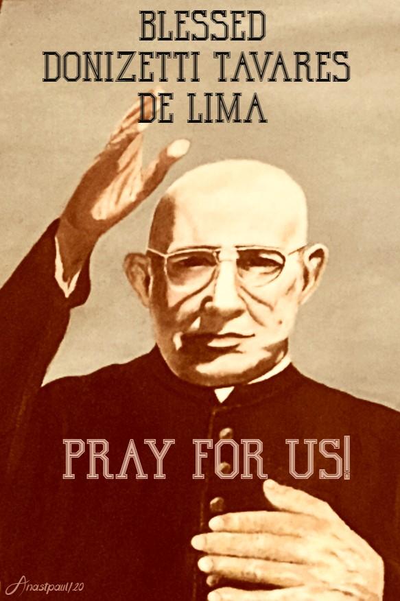 bl donizetti tavares de lima pray for us 16 june 2020