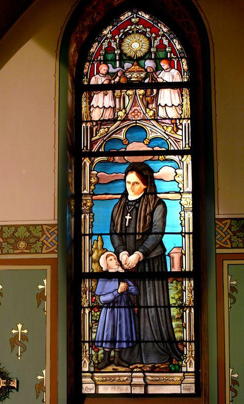 bl louise-therese de montaignac de chauvances -glass
