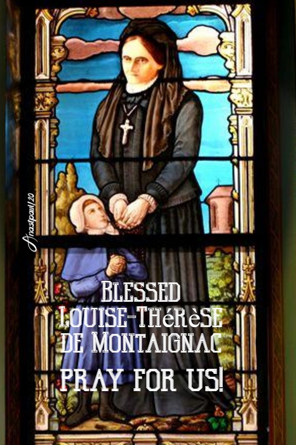 bl louise-therese de montaignac pray for us 27 june 2020