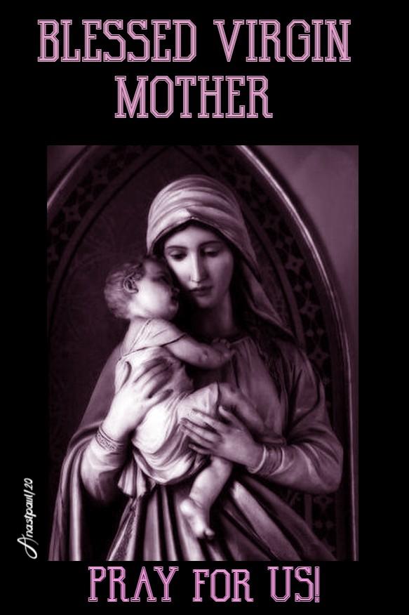 blessed virgin mother pray for us 2 june 2020 (1)