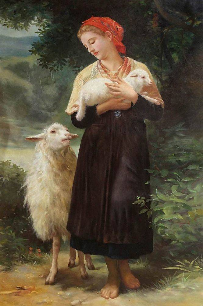 bougereau shepherdess