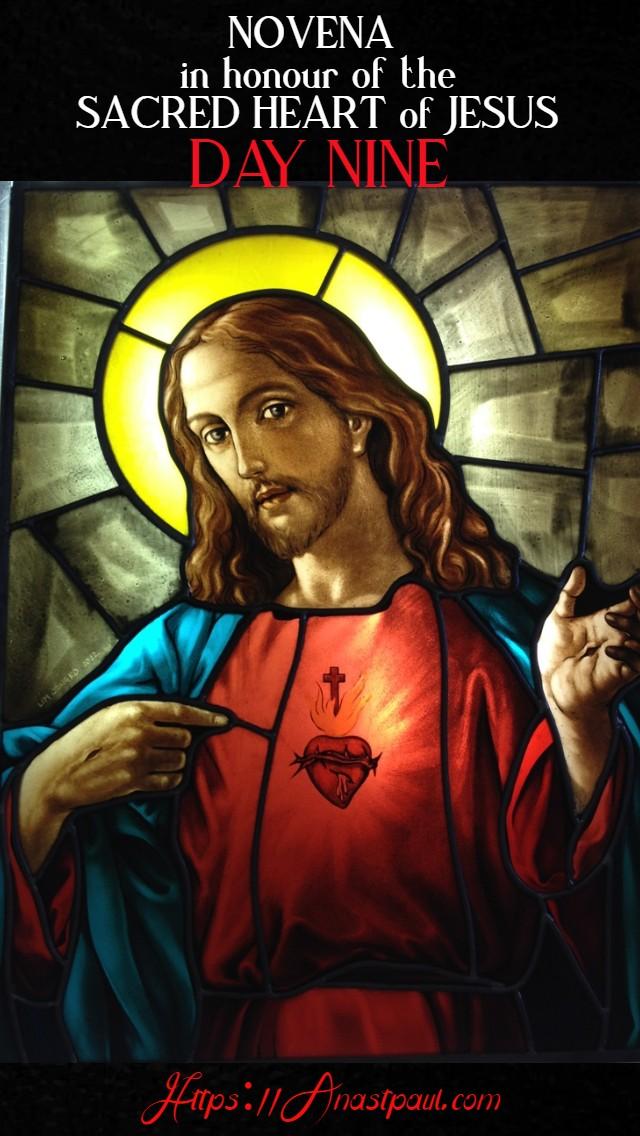 day nine sacred heart novena 18 june 2020