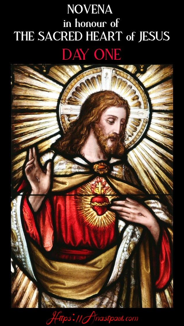 DAY ONE SACRED HEART NOVENA 10 JUNE 2020