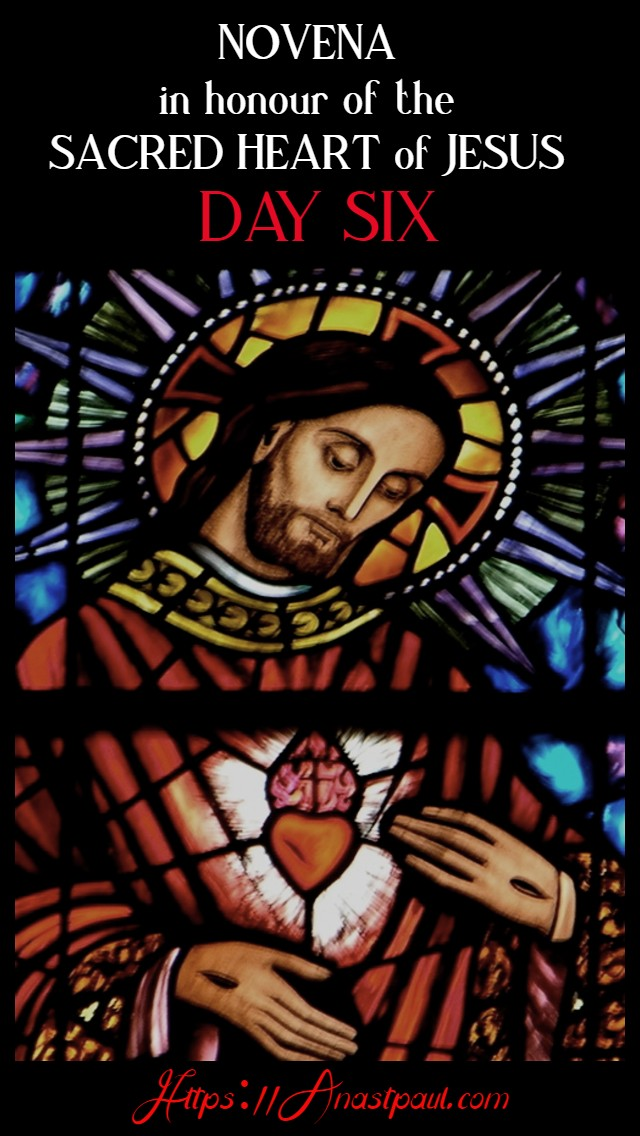 DAY SIX SACRED HEART NOVENA 15 JUNE 2020