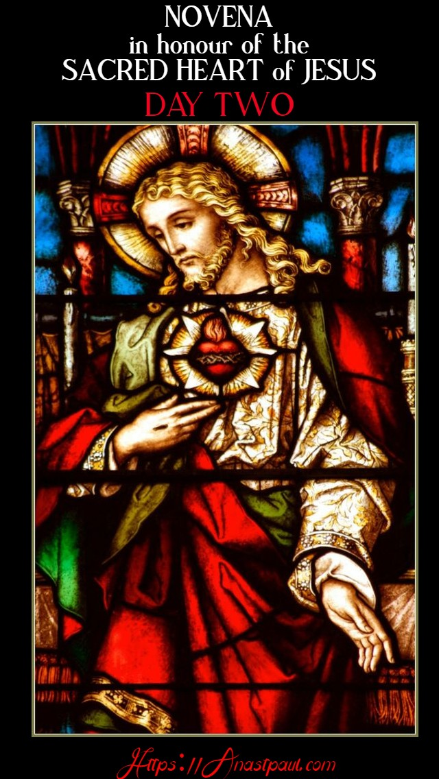 day two novena to the sacred heart 11 june 2020