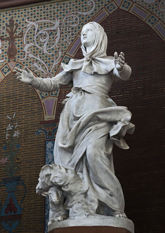 Eglise_Sainte-Germaine_Statue_par_Alexandre_Falguière_1877