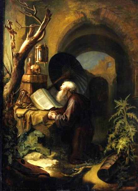 gerrit-dou-a-hermit-monk-in-contemplation