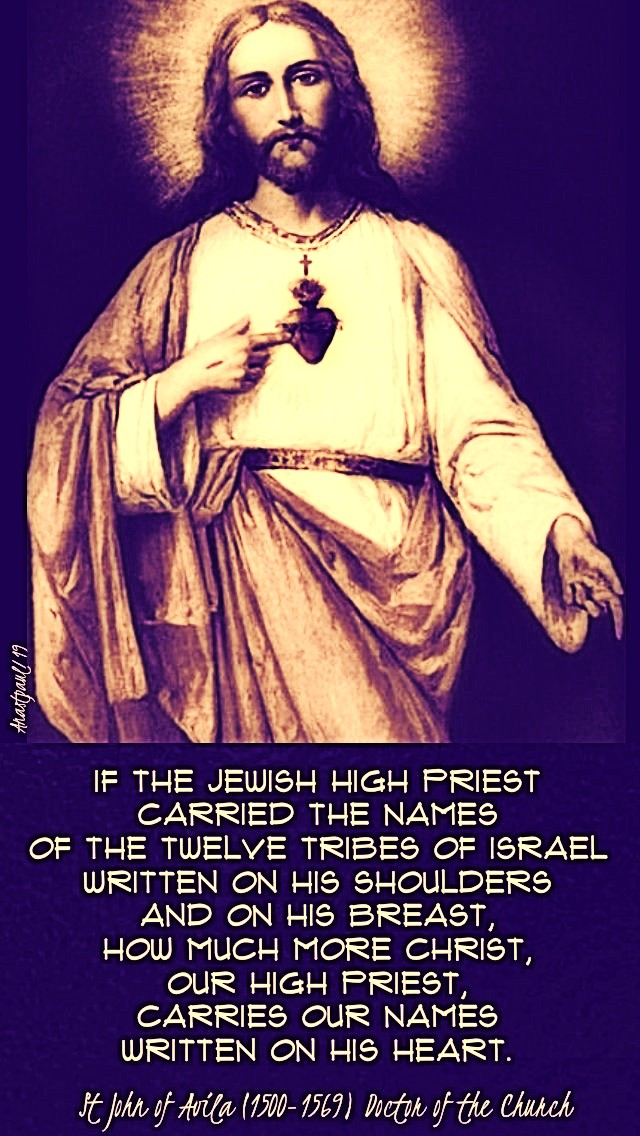 if-the-jewish-high-priests-st-john-of-avila-28-june-2019-sacred-heart and 19 june 2020