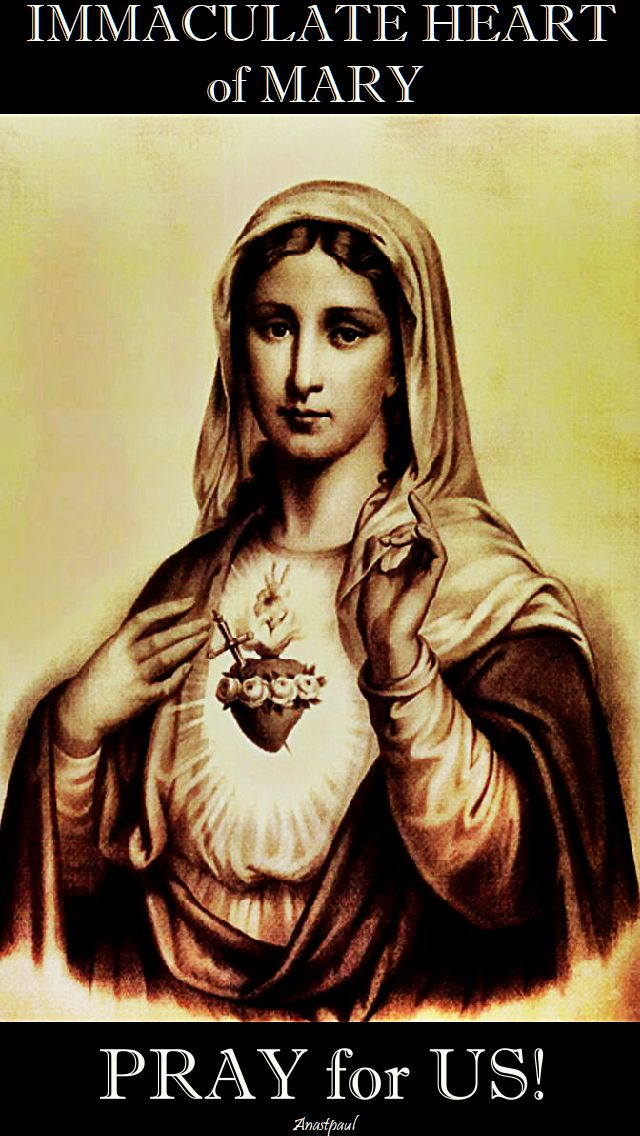 immaculate heart of mary - pray for us