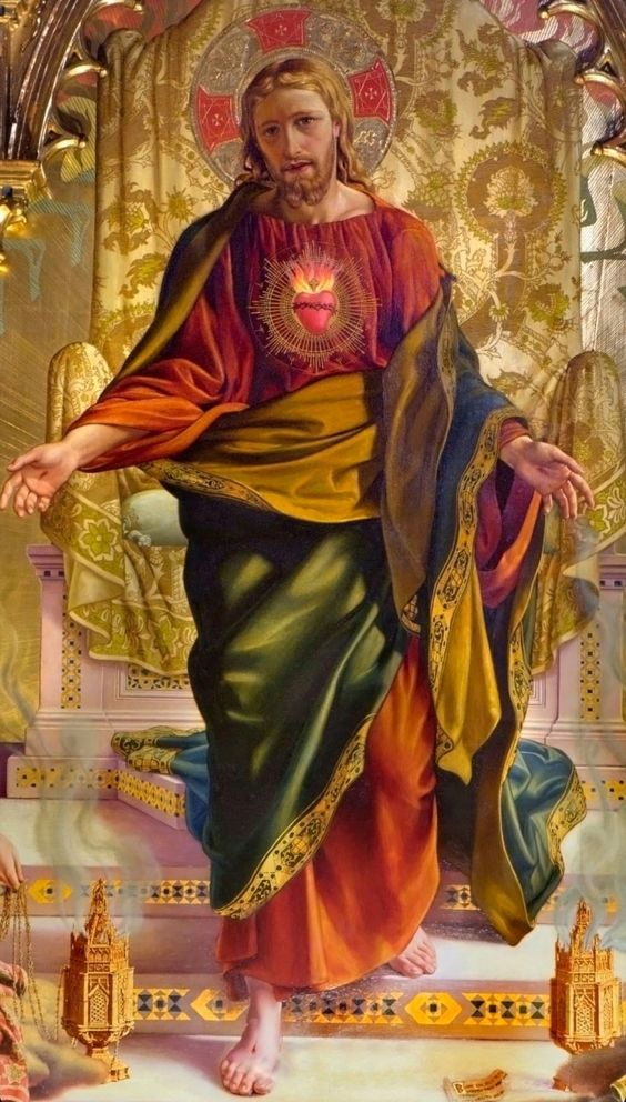 magnificent sac heart o jesus