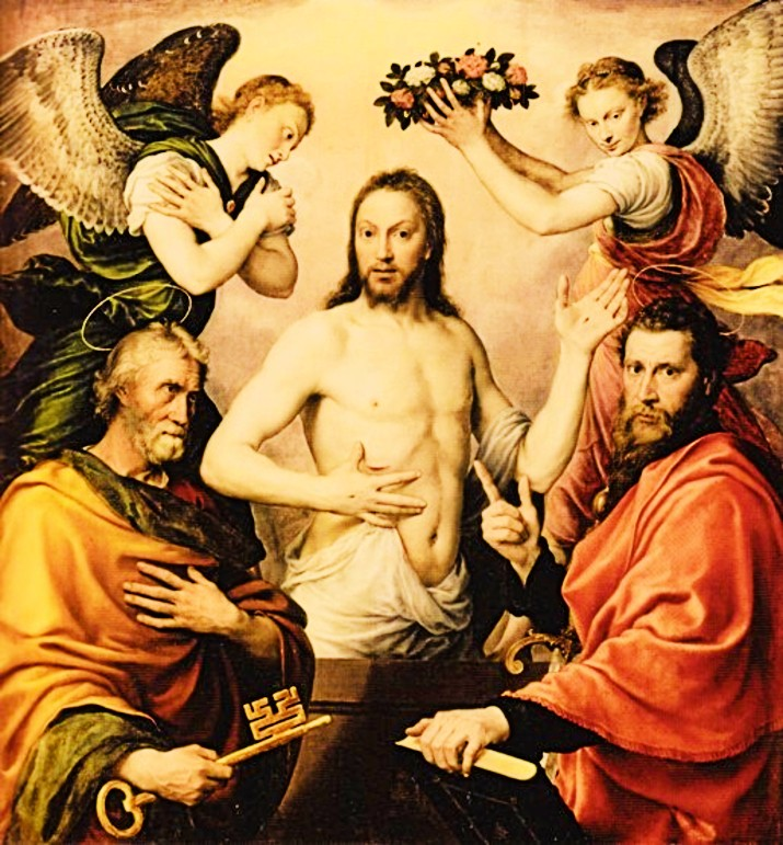 Mor-Christ-Condé wit sts peter and paul