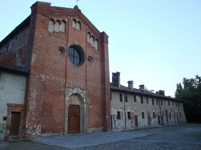 Pavia_-_monastery and church of San_Lanfranco