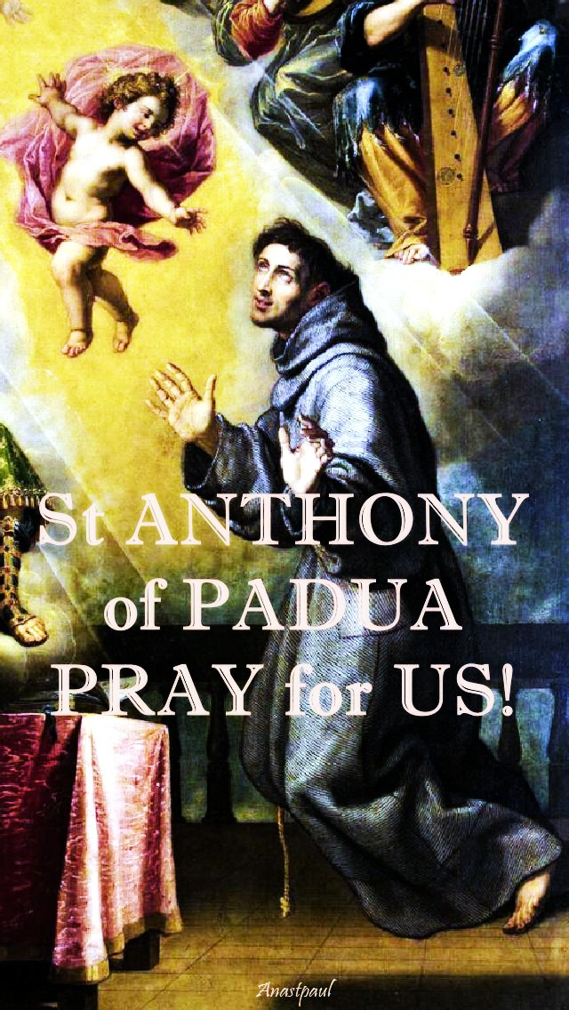 st-anthony-pray-for-us-13-june-2017 AND 13 JUNE 2020