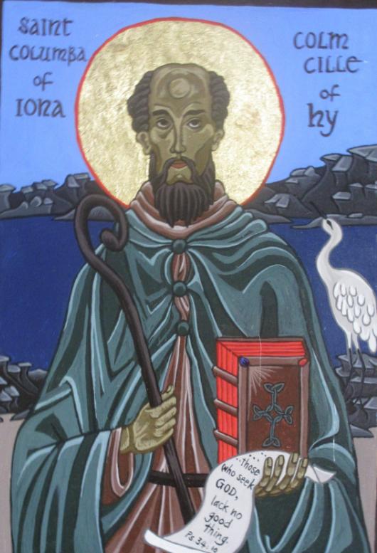 st columba of iona lg icon