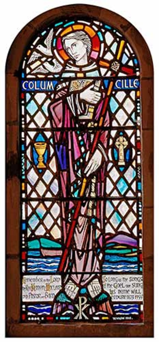 st columba-window