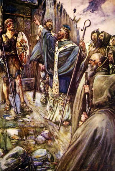 st Columba_at_Bridei's_fort