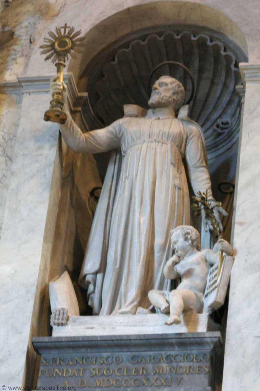 St Francesco Caracciolo-FounderSaint