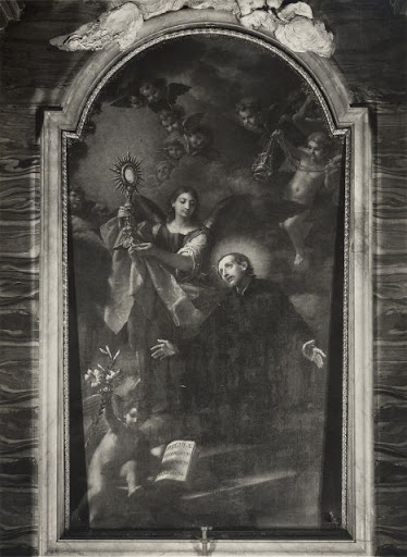st francis caracciolo black and white