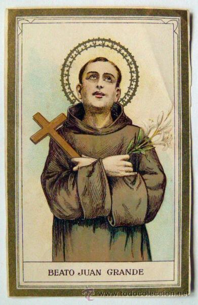 st juan grande holy card 1