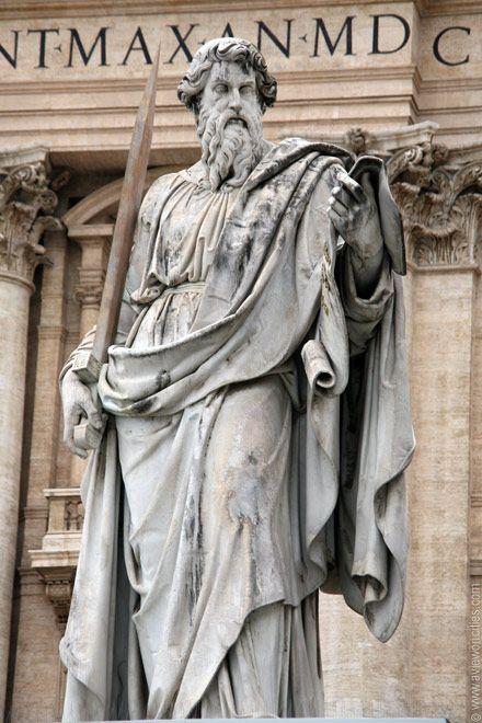 St Paul statue - vatican