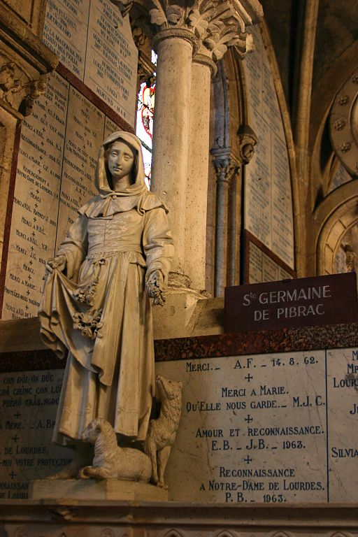 St._Germaine_de_Pibrac_-_Basilica_of_the_Immaculate_Conception_-_Lourdes_2014