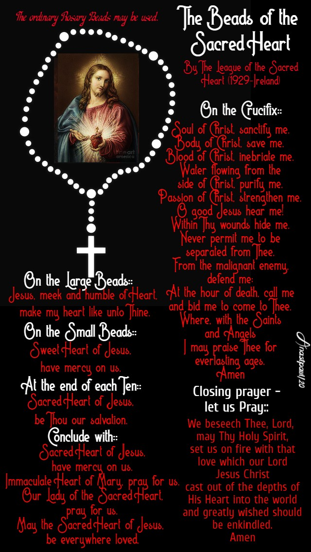 The Beads of the Sacred Heart - 19 June 2020