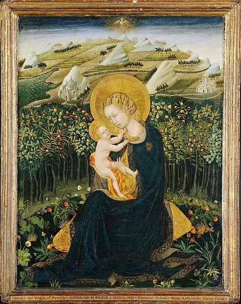 475px-Madonna_of_Humility.Giovanni_di_Paolo._Boston_MFA