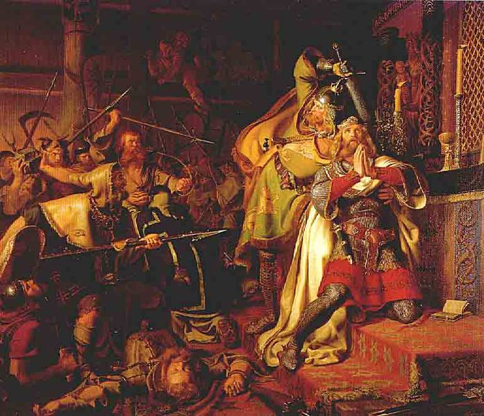 697px-christian-albrecht-von-benzon_the_death_of_canute_the_holy
