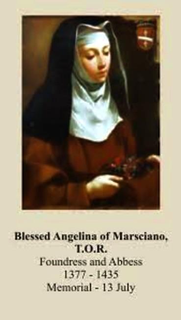 bl angelina oprayer card