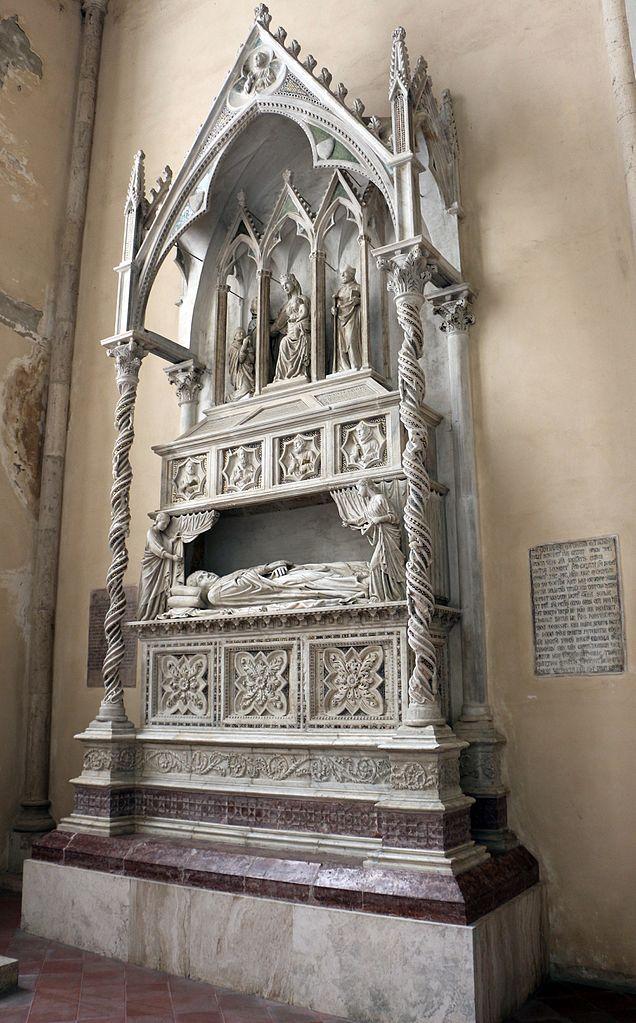 bl benedict xi tomb Lorenzo_maitani_(attr.),_monumento_di_benedetto_XI,_1305_circa,_01