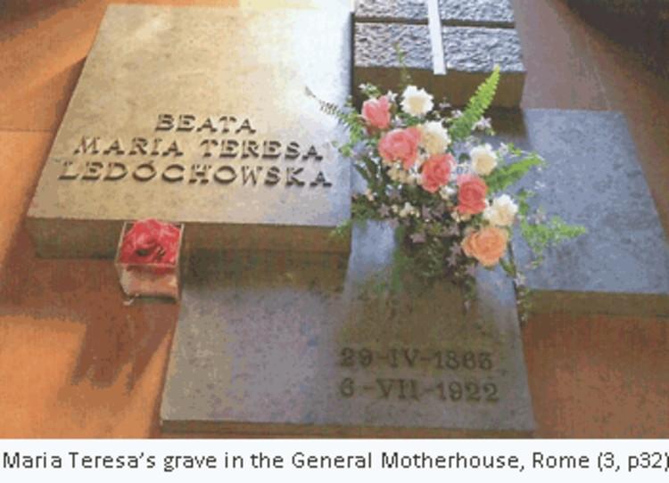 bl maria teresa's Grave-subtitle