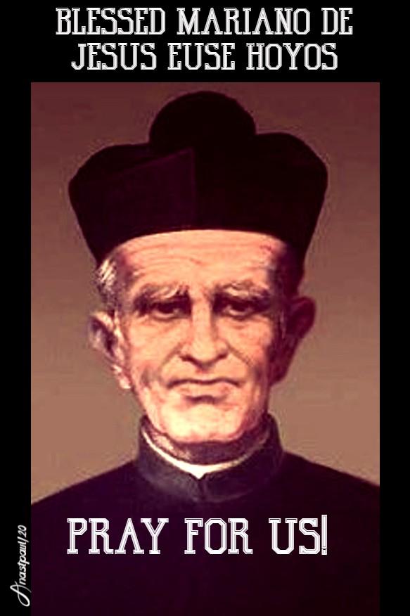 bl mariano de jesus euse hoyos pray for us 13 july 2020
