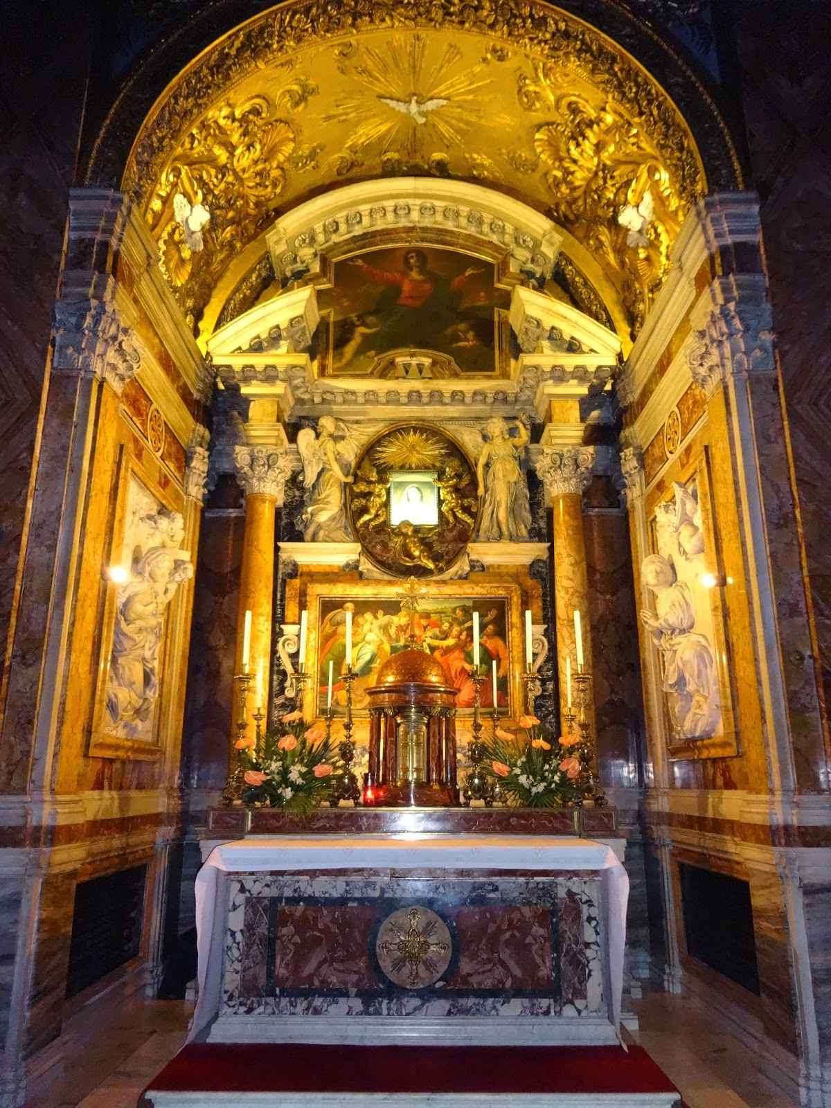 chapel of the madonna of humility in rome