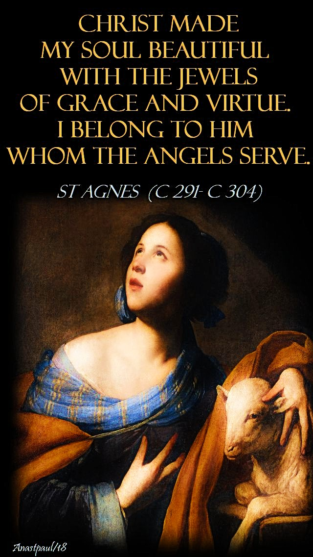 christ-made-my-soul-st-agnes-21-jan-2018 and 18 july 2020