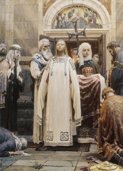 ST OLGA OF KIEV PRINCESS