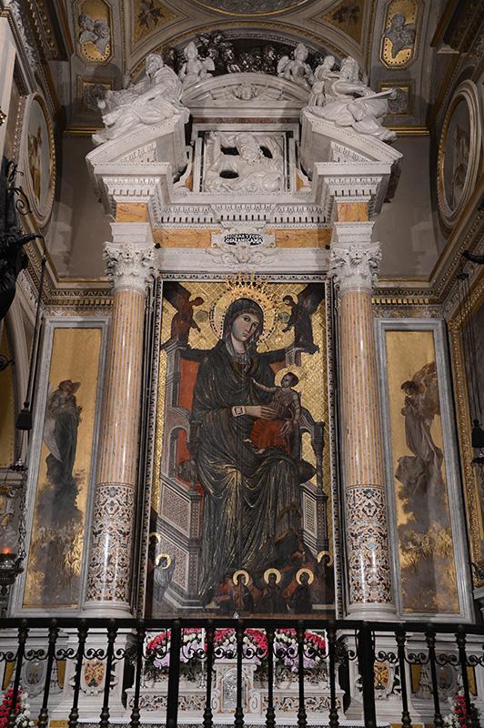 the virgin of montevergine