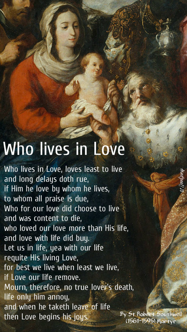 who-lives-in-love-st-robert-southwell-5-jan-2020 and 18 july 2020