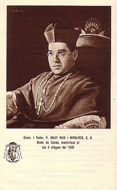 bl salvio holy card