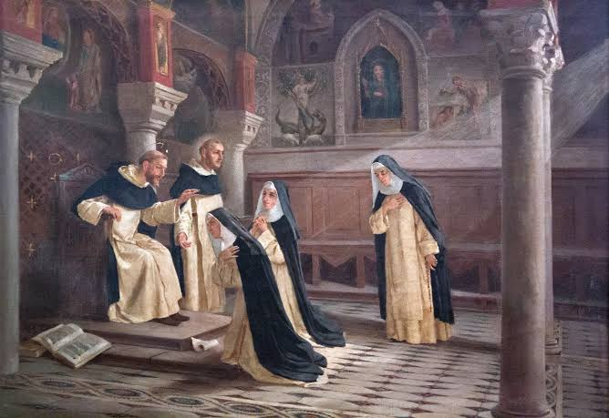 dominican monks and sisters