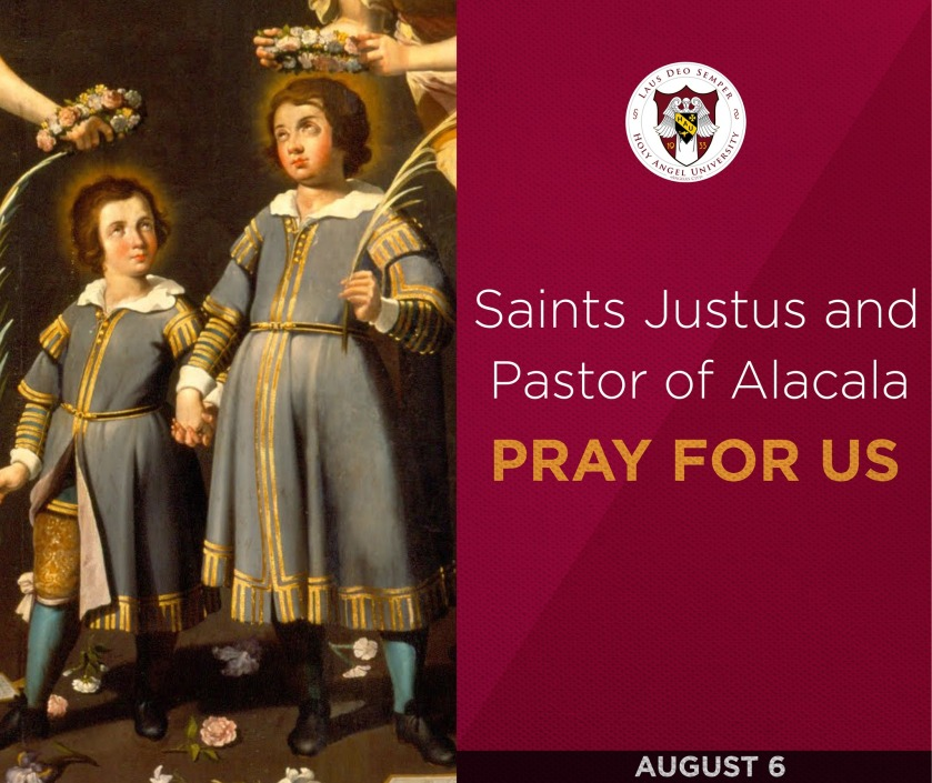 HEADER STS JUSTUS AND PASTOR OF ALACALA